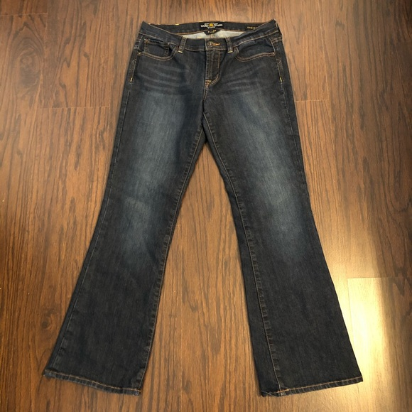 Lucky Brand Denim - Lucky Brand jeans ankle bootcut sweet n low size 6